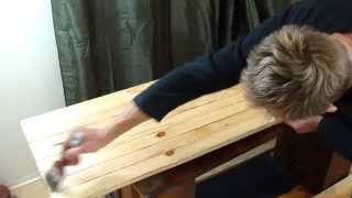 Как сделать стол из дерева самому. Массивный стол своими руками.