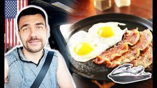 Как приготовить американский завтрак   Что случилось со мной на озере в США