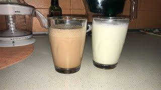 Как приготовить молочный коктейль/готовим дома молочный коктейль/быстро и вкусно из мороженого