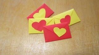 Как Сделать Валентинки Своими Руками / Поделки из бумаги / Sekretmastera