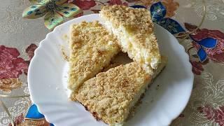 Как быстро приготовить творожный пирог. Легко и вкусно. Cheesecake