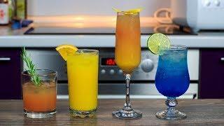 Топ 4 КОКТЕЙЛЯ с Водкой | Приготовит каждый | 4 Easy Vodka Drinks