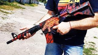 КАК СДЕЛАТЬ M4A4 | HOWL ИЗ CS:GO СВОИМИ РУКАМИ DIY