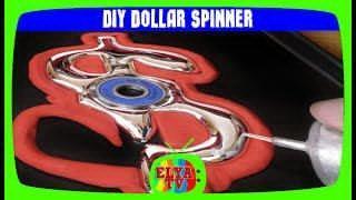 DIY DOLLAR SPINNER!Спинер доллар своими руками!спиннер алиэкспресс!КАК СДЕЛАТЬ СПИННЕР spiner спинер
