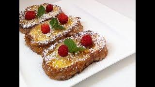 Французский завтрак за 5 минут  - как приготовить самый вкусный завтрак!