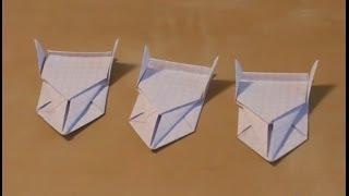 Как сделать машину из бумаги своими руками за 3 минуты! Видео!