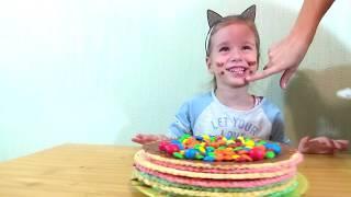 Пошаговый рецепт как приготовить торт для ПАПЫ!!!!