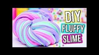 Как сделать Флаффи Слайм своими руками! DIY Fluffy Slime!