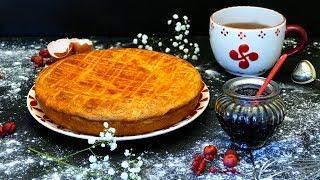 Как приготовить пирог из песочного теста с вареньем или Баскский пирог с вишней