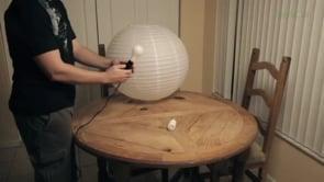 Как сделать светильник Chine Ball своими руками