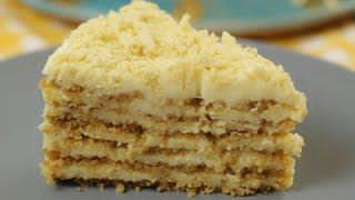 БЕЗ ДУХОВКИ  и ПЕЧЕНЬЯ !!! ОБАЛДЕННЫЙ торт ПЛОМБИР. Остановиться НЕВОЗМОЖНО