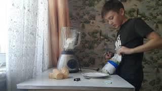 Как приготовить молочный коктейль,быстро и вкусно!