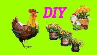 Супер идеи для дачи своими руками / DIY for the garden / A - Video