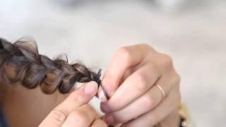 Плетение кос в домашних условиях, инструкция как сделать прическу самой себе.