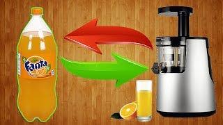 Как сделать соковыжималку из пластиковых бутылок своими руками/ Juice squeezer from plastic bottles