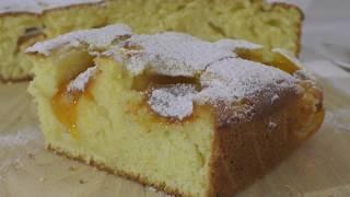 АБРИКОСОВЫЙ ПИРОГ Потрясающе вкусный Рецепт пирога Как приготовить пирог