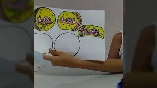 Как сделать бумажный LOL своими руками?